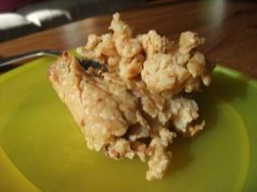 Photo d'un amas de riz au lait bien cuit